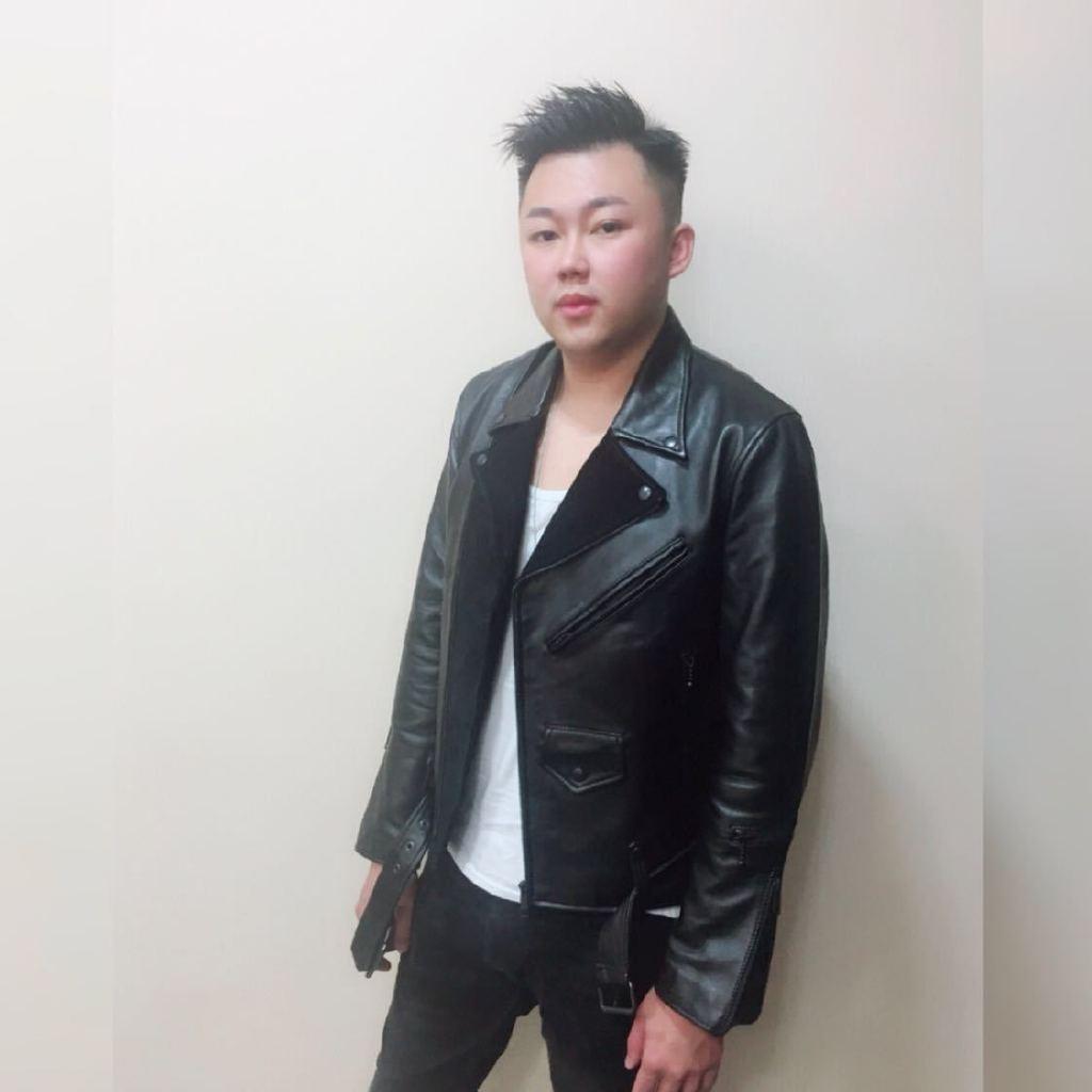 海口发型师tonywong图片