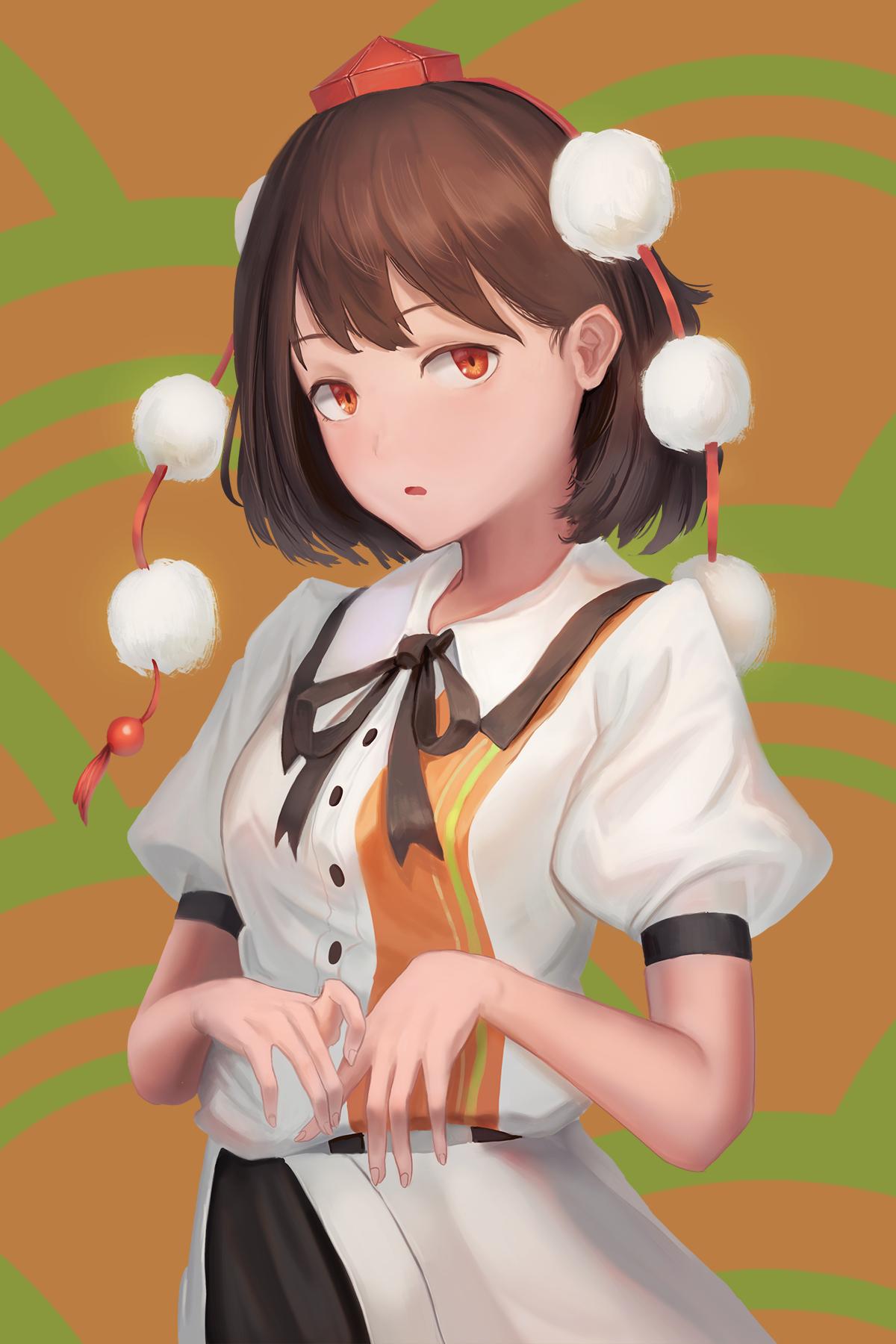 日本风姑娘
