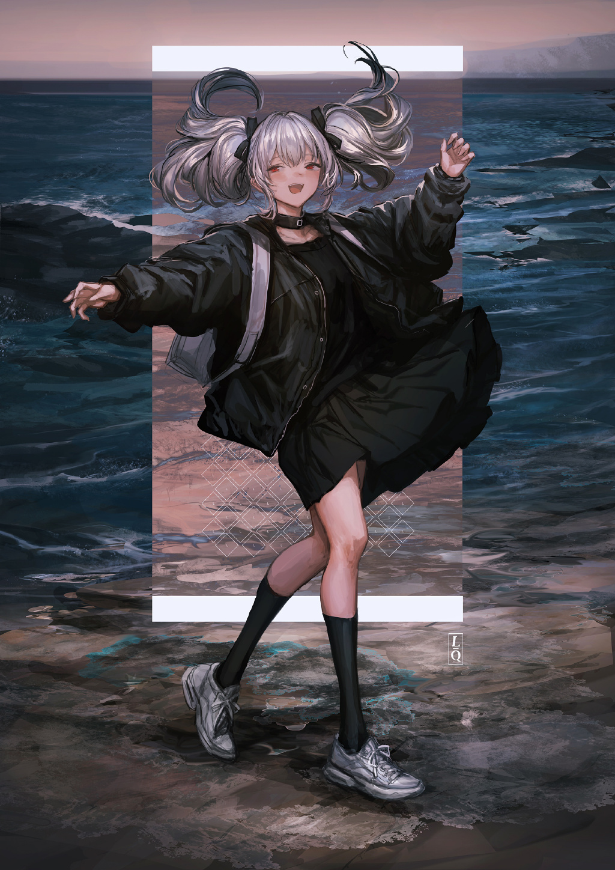 [P站画师]酷酷的女孩子们!日本画师_LM7_的插画作品- DIMTOWN.COM