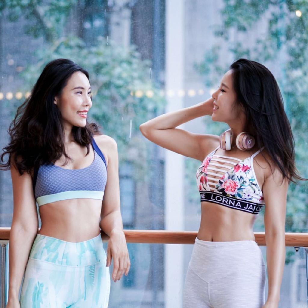 百万粉丝女性健康生活方式博主大G和Weiya,关于女生减肥健身,美食烹饪,运动时尚和健康生活的一切