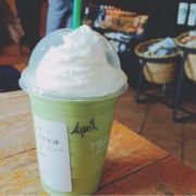 超浓奶绿Venti微博照片