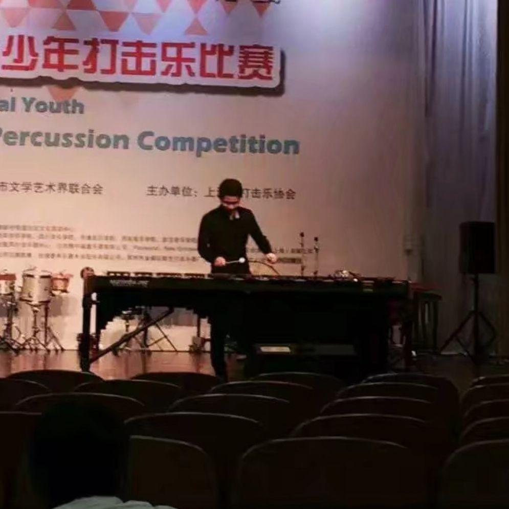 沈阳音乐学院  打击乐专业学生