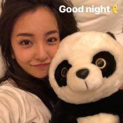 侑子是板野友美的熊猫