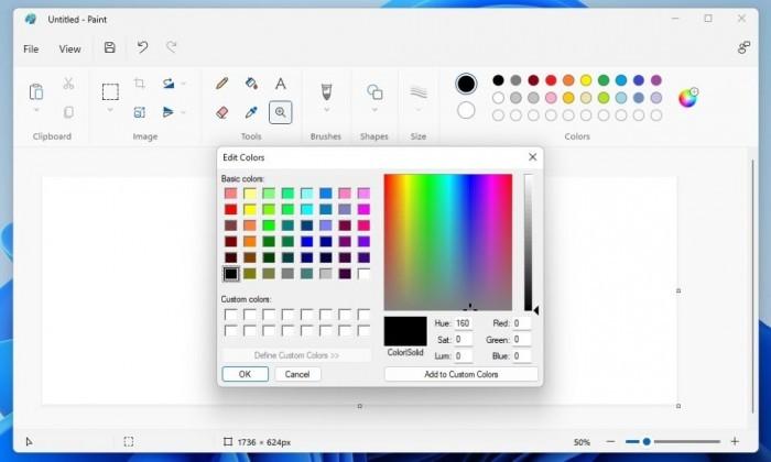 Windows 11原生Paint迎来重大视觉升级 交互体验更优秀