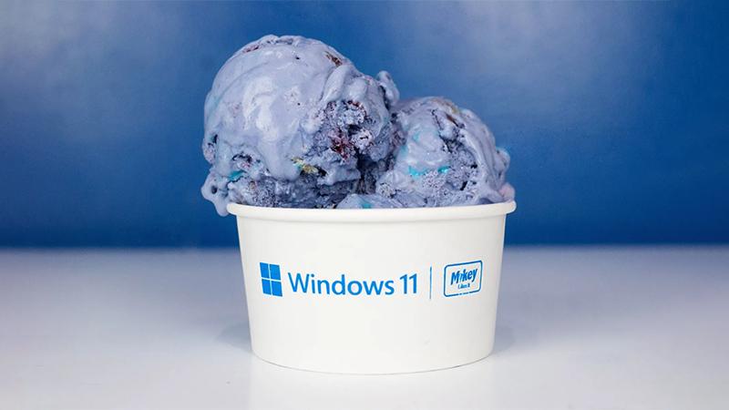 为庆祝Windows 11发布 微软免费赠送系统主题冰淇淋