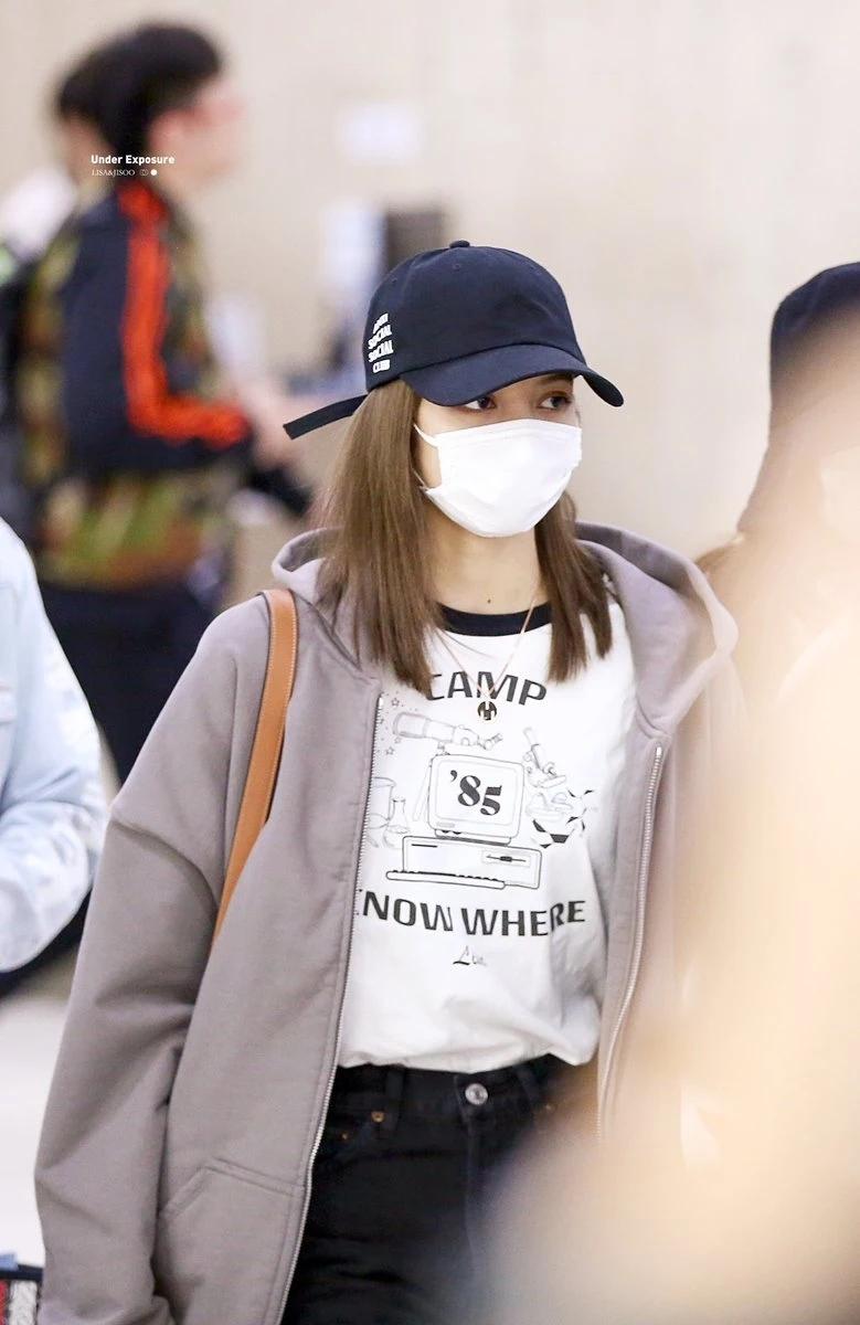 魅力无法挡!BLACKPINK成员Lisa戴上口罩依旧美丽!插图(11)