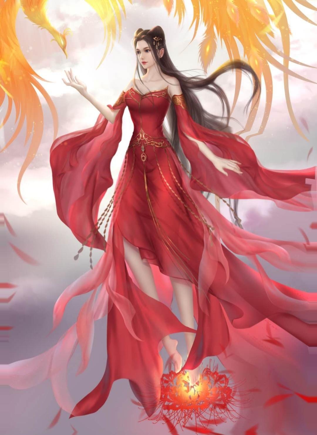 动画天行九歌焰灵姬手绘图片