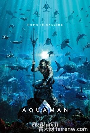 《水行侠 Aquaman》──华丽无边的�海底史诗