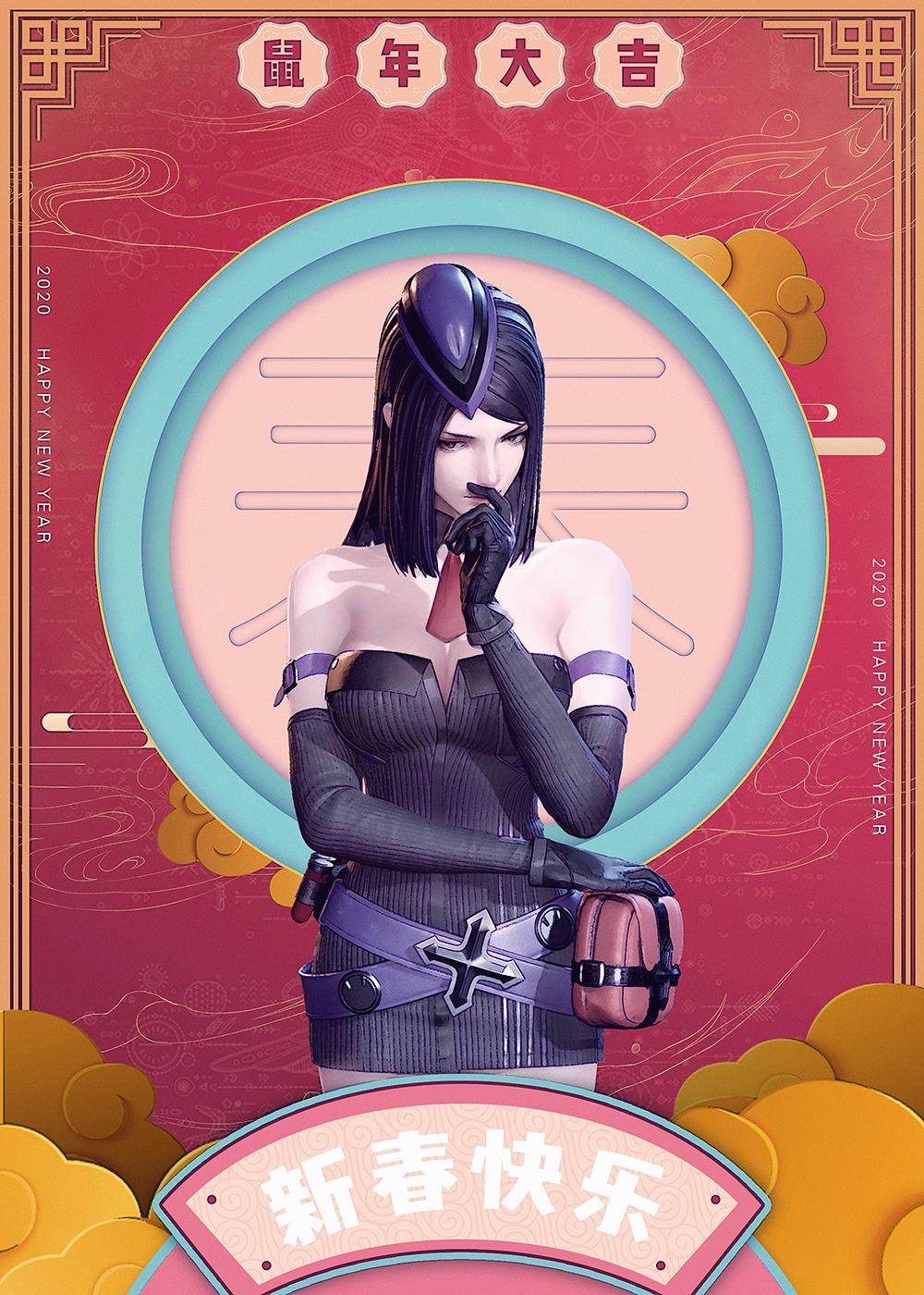 3D动画枪神记莉安娜图片