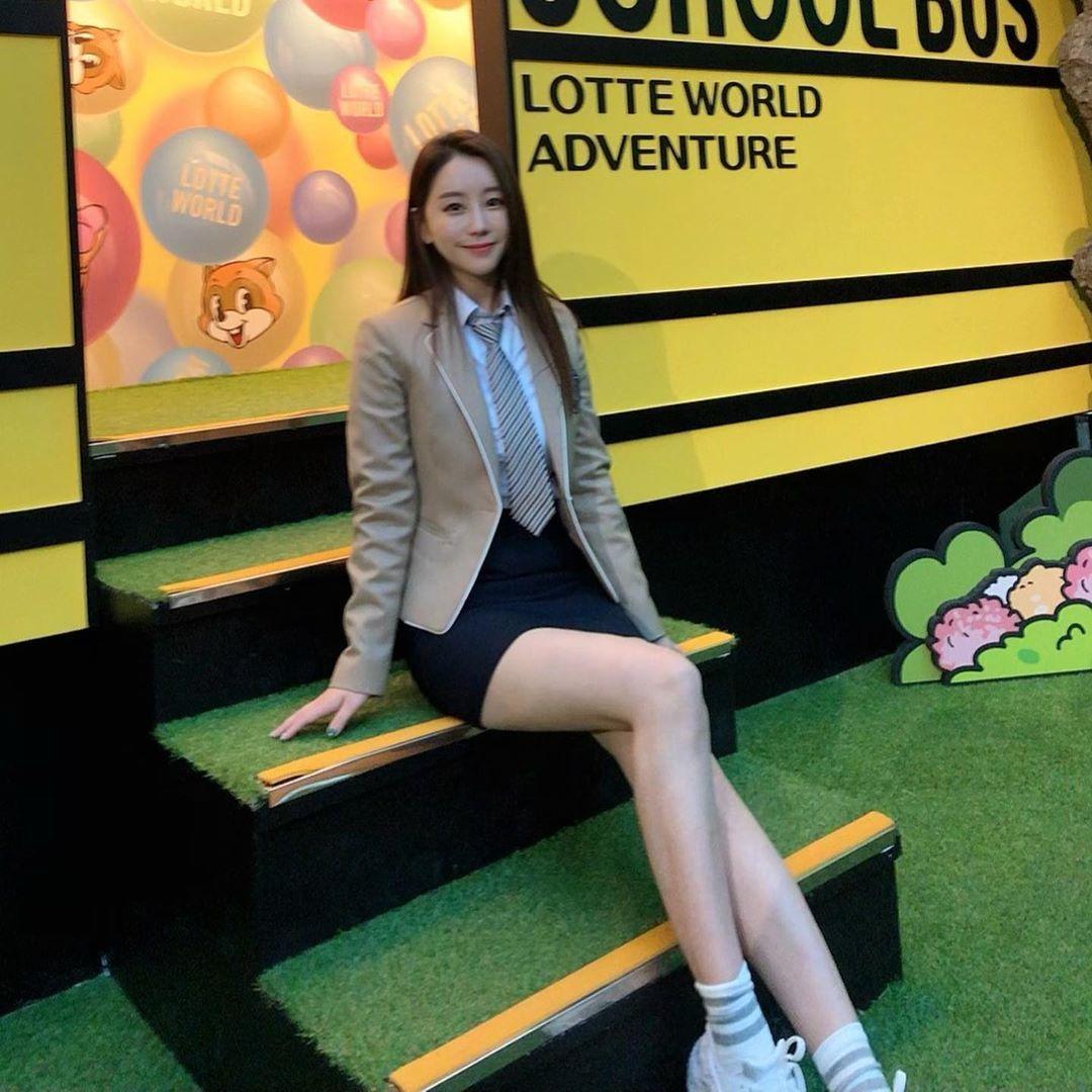 南韩前SBS体育美女主播黄宝美(황보미) 养眼图片 第4张