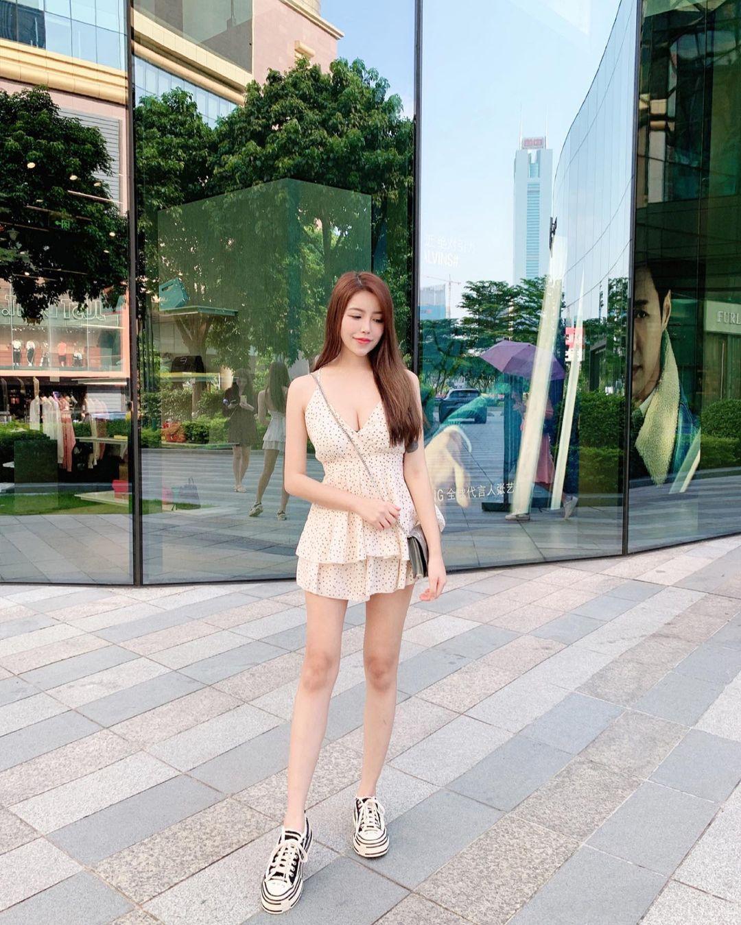 马来西亚的网红娜娜Hannah 回头率100%的超胸妹子 网络美女 第4张