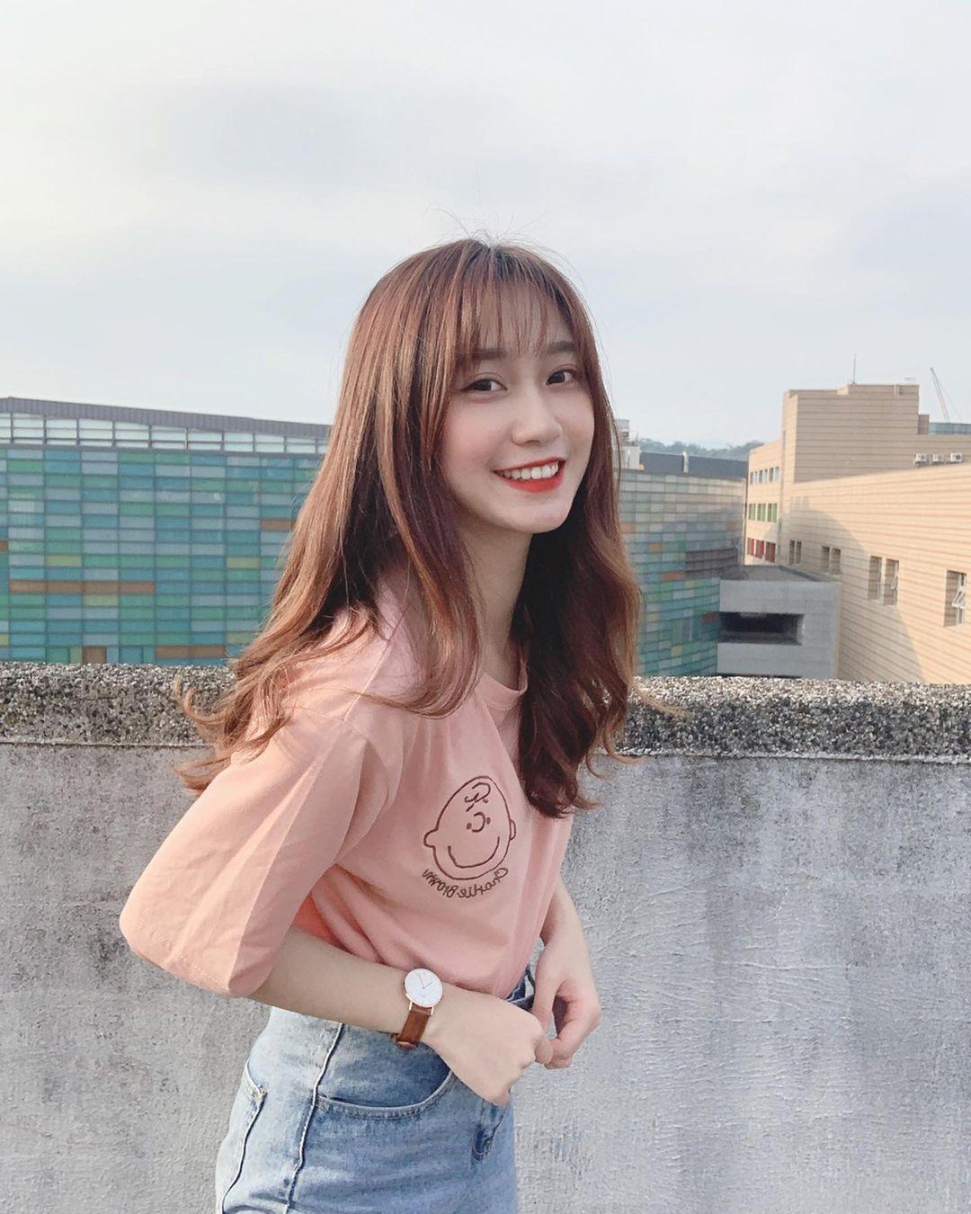 北教大校花女神倩米清新笑颜太甜美 美少女老师 网络美女 第4张