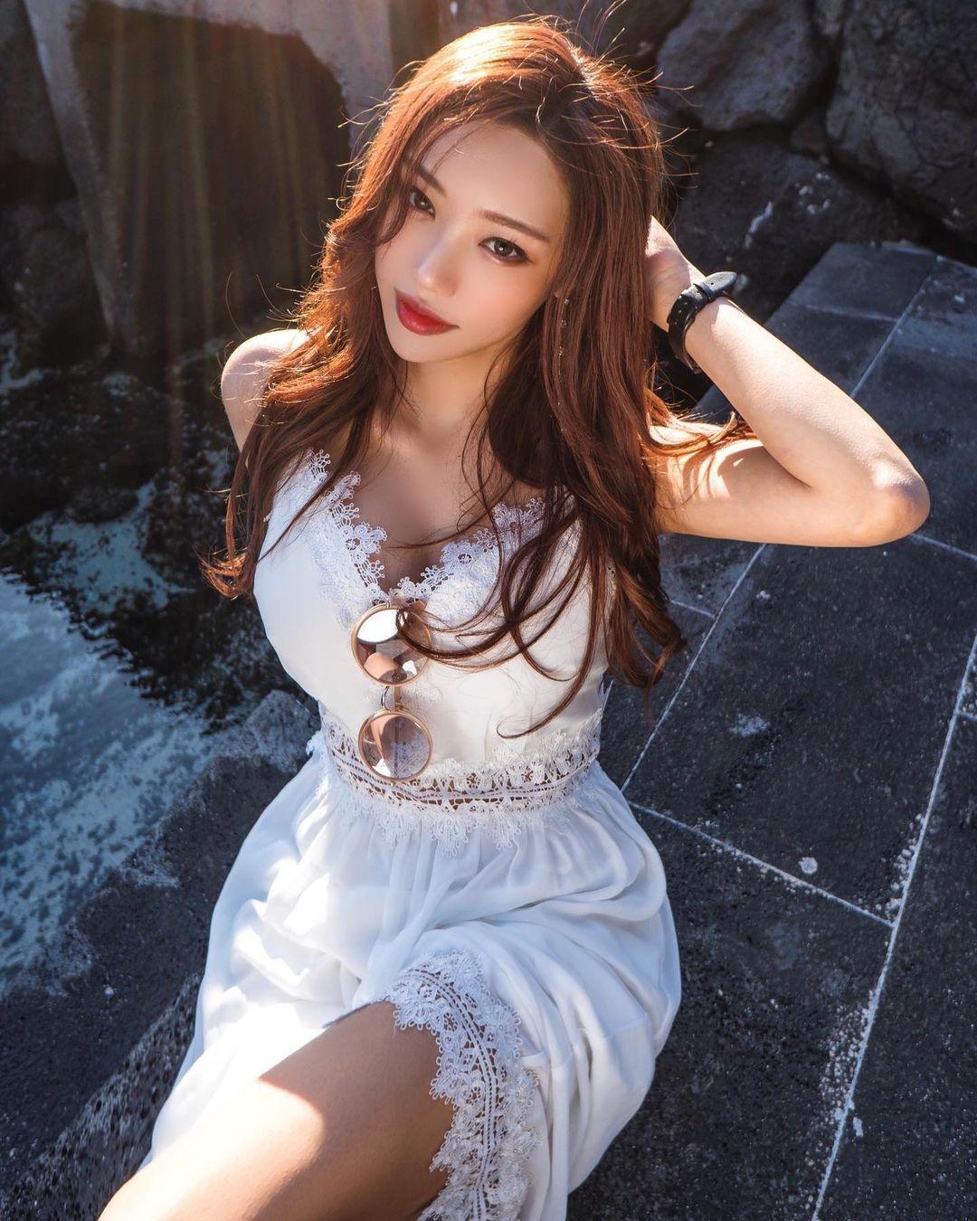美艳气质姐姐쏘블리精致五官如仙女下凡纤细曼妙完美体态辣到喷火 网络美女 第5张