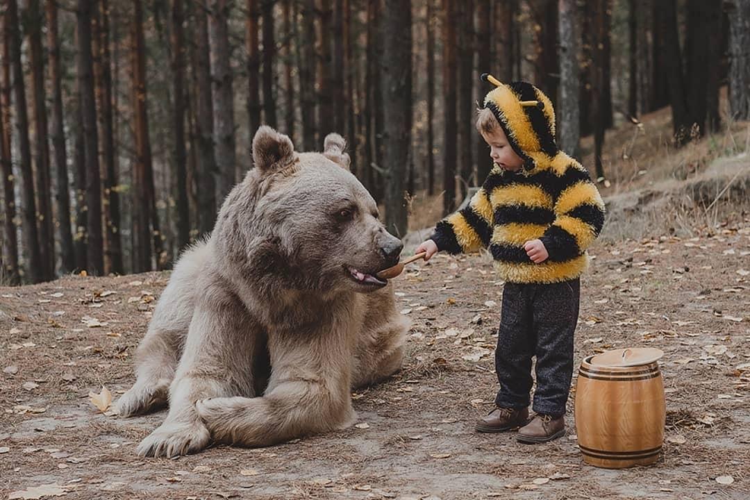 真实版!超唯美写真《美女与野兽》宛如进入奇幻童话世界中!-新图包