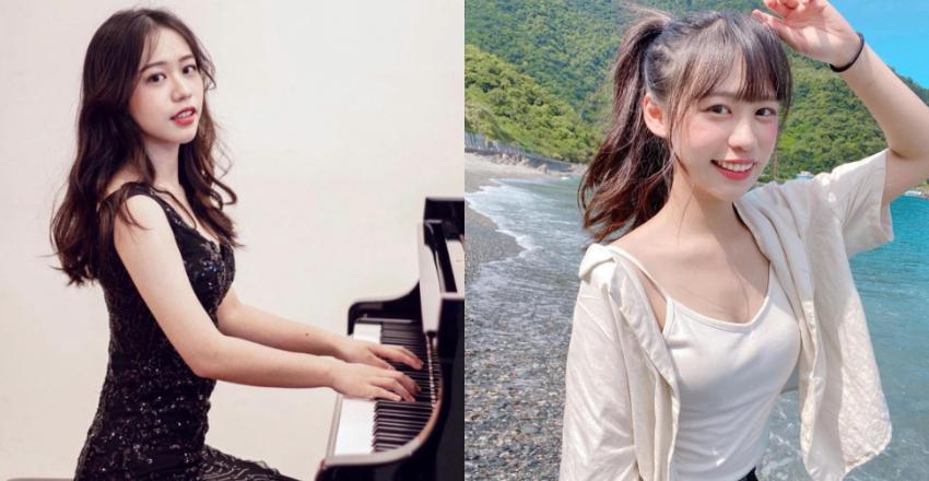 清大音乐研究所「祝晨瑄」气质满分弹钢琴的模样让人恋爱