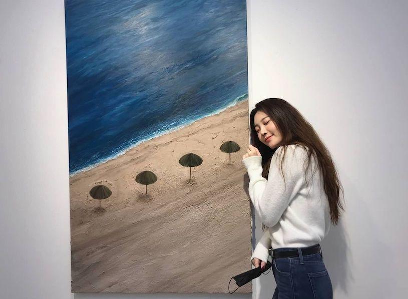 充满艺术气息的韩国小姐姐Yura@yura_936 养眼图片 第7张