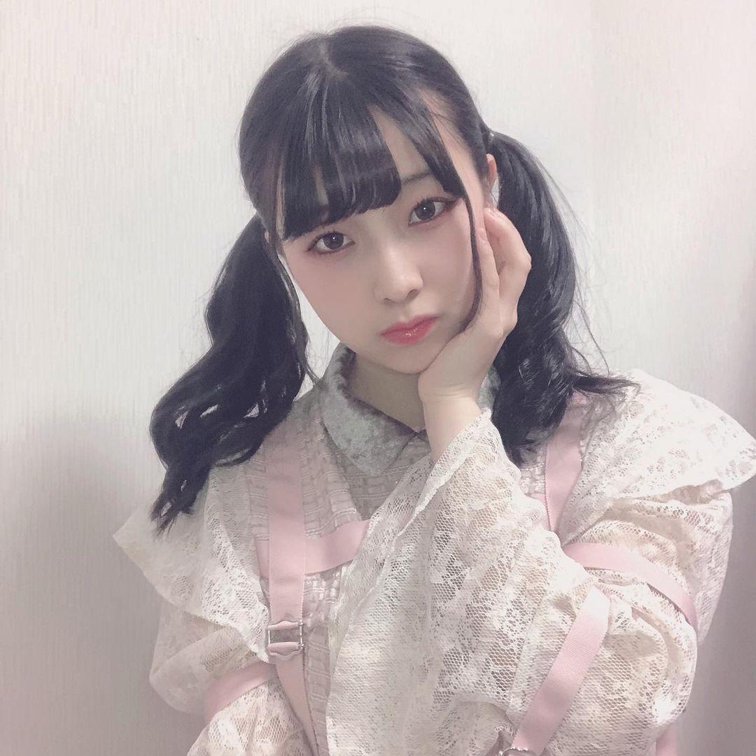 NMB48妹系偶像「安部若菜」邻家女孩气场初恋感十足,软绵绵「呆萌小脸」让人好想捏-新图包