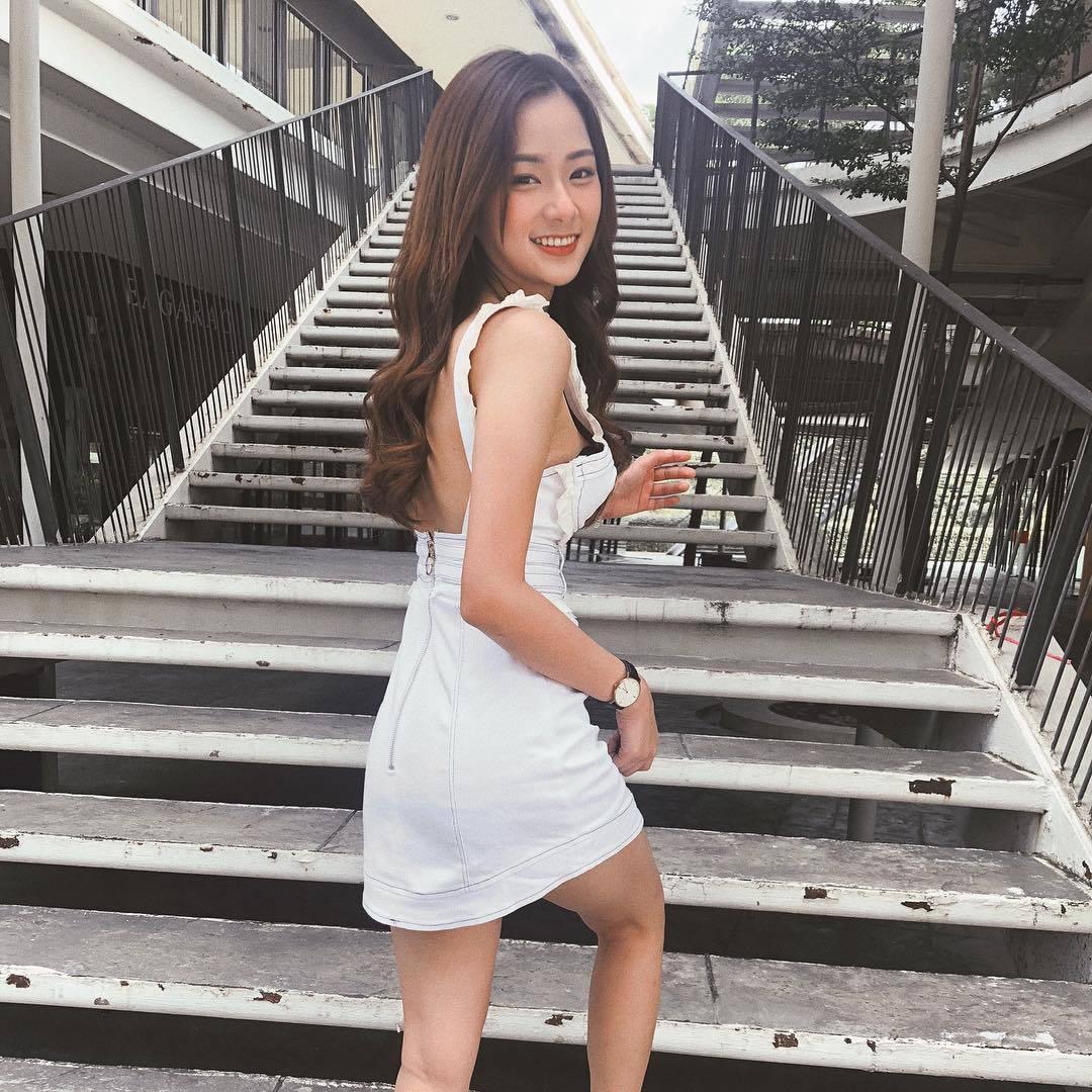图片[3]-泰国也有天菜!清新神正「邻家美少女」,笑容甜美还有超纤细美腿!-福利巴士