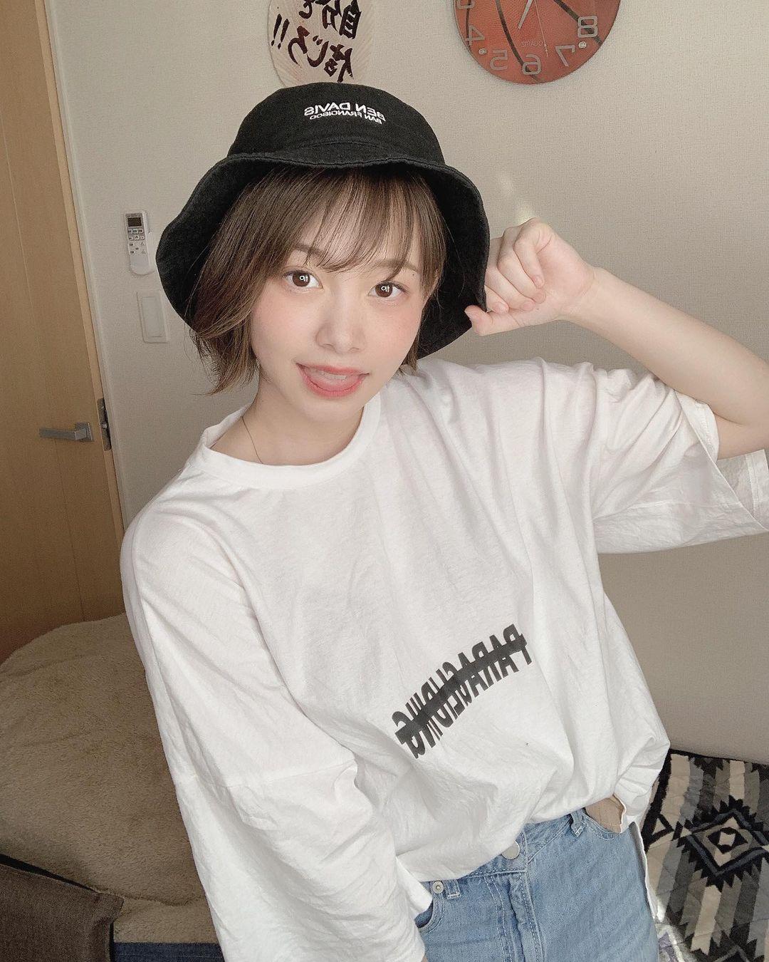 日本最可爱高中生「新田あゆな」长大了!短发童颜造型-新图包