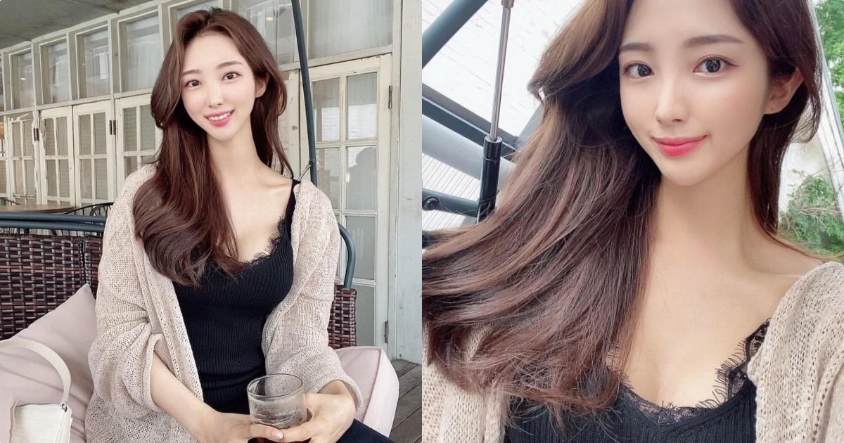 韩国航空空姐「gyule__s2」薄蕾丝造型好性感呀!
