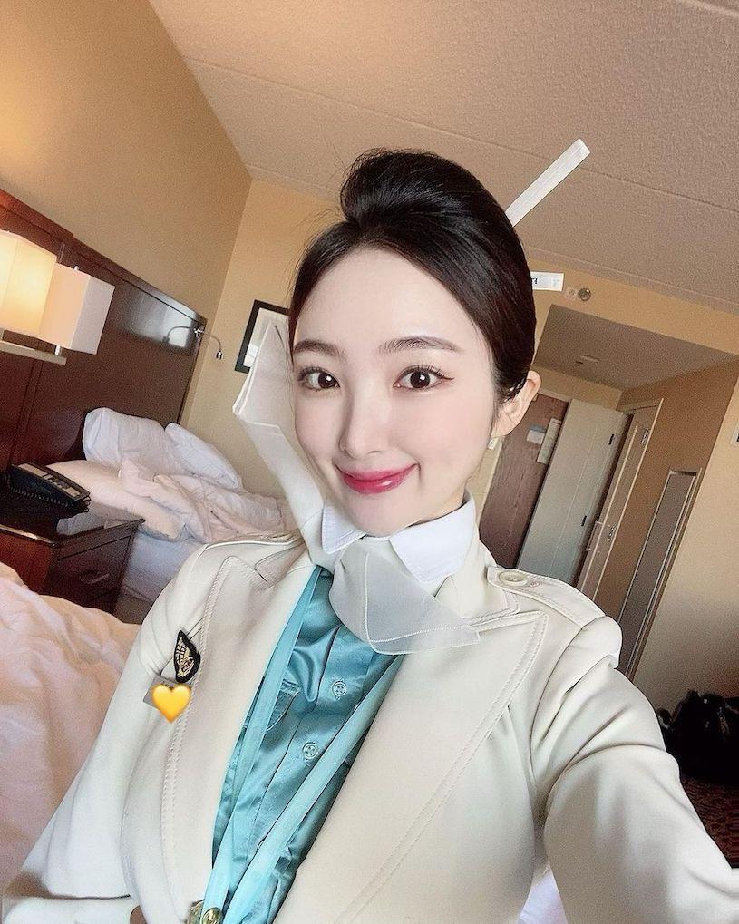 韩国航空空姐「gyule__s2」薄蕾丝造型好性感呀!-新图包