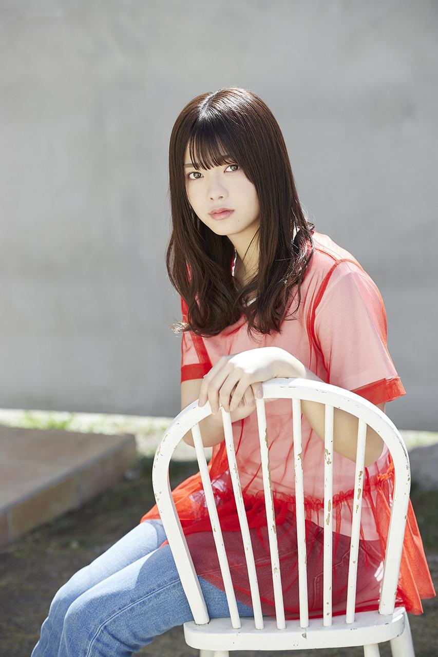 最想和她交往樱坂46田村保乃甜甜女友力让人心动水汪无辜双眼透明感十足 养眼图片 第22张