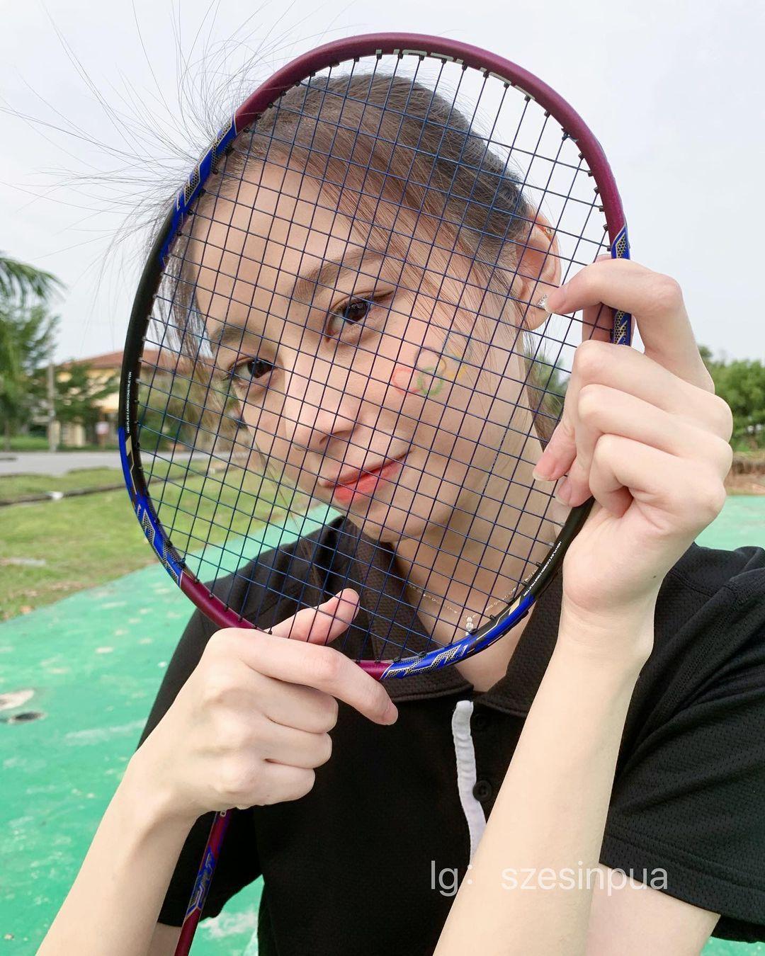 马来西亚的网红美女羽球系正妹思欣 超甜 网络美女 第2张