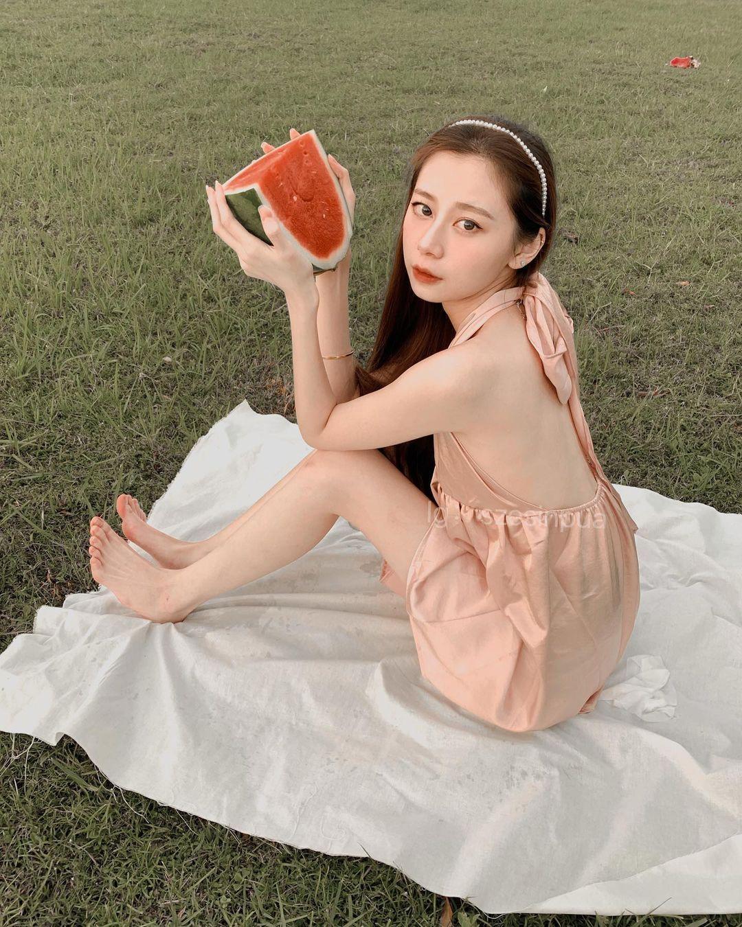 马来西亚的网红美女羽球系正妹思欣 超甜 网络美女 第7张