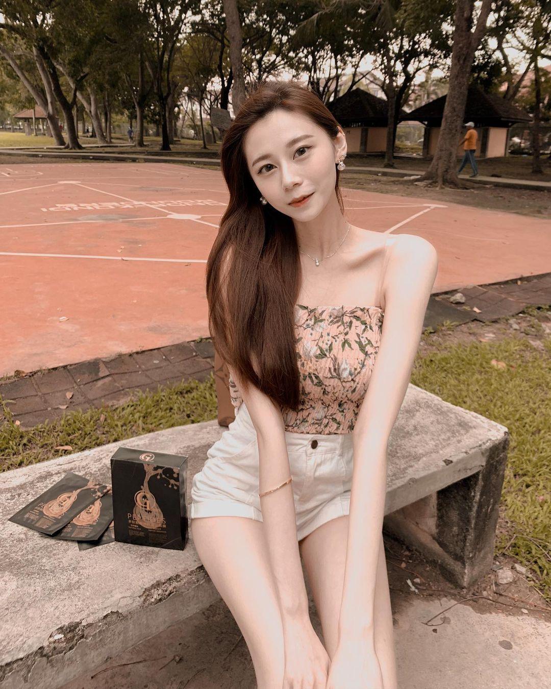 马来西亚的网红美女羽球系正妹思欣 超甜 网络美女 第14张