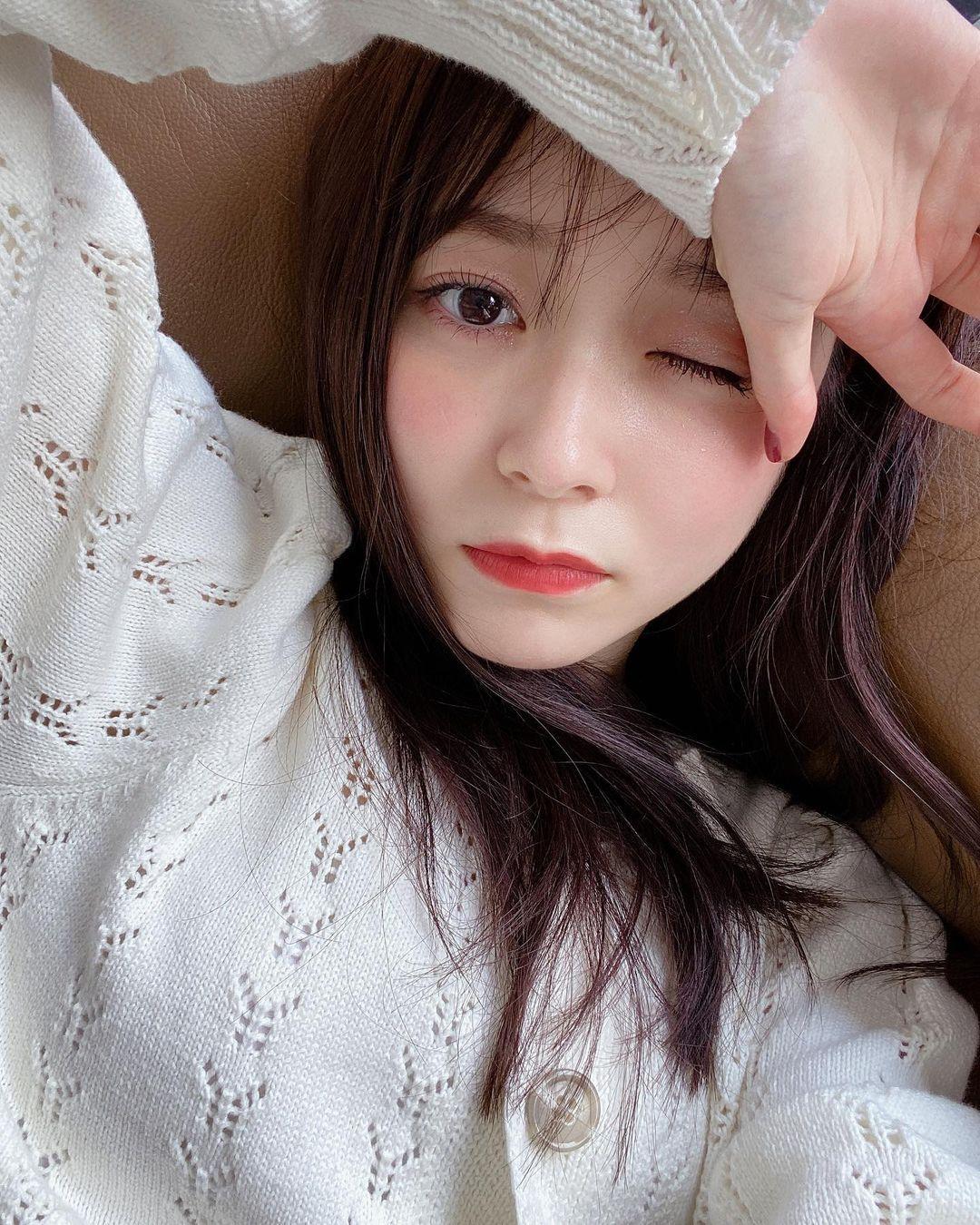 新垣结衣小师妹久间田琳加清甜笑容超治愈 迷人双眸更是女友感爆棚 网络美女 第5张