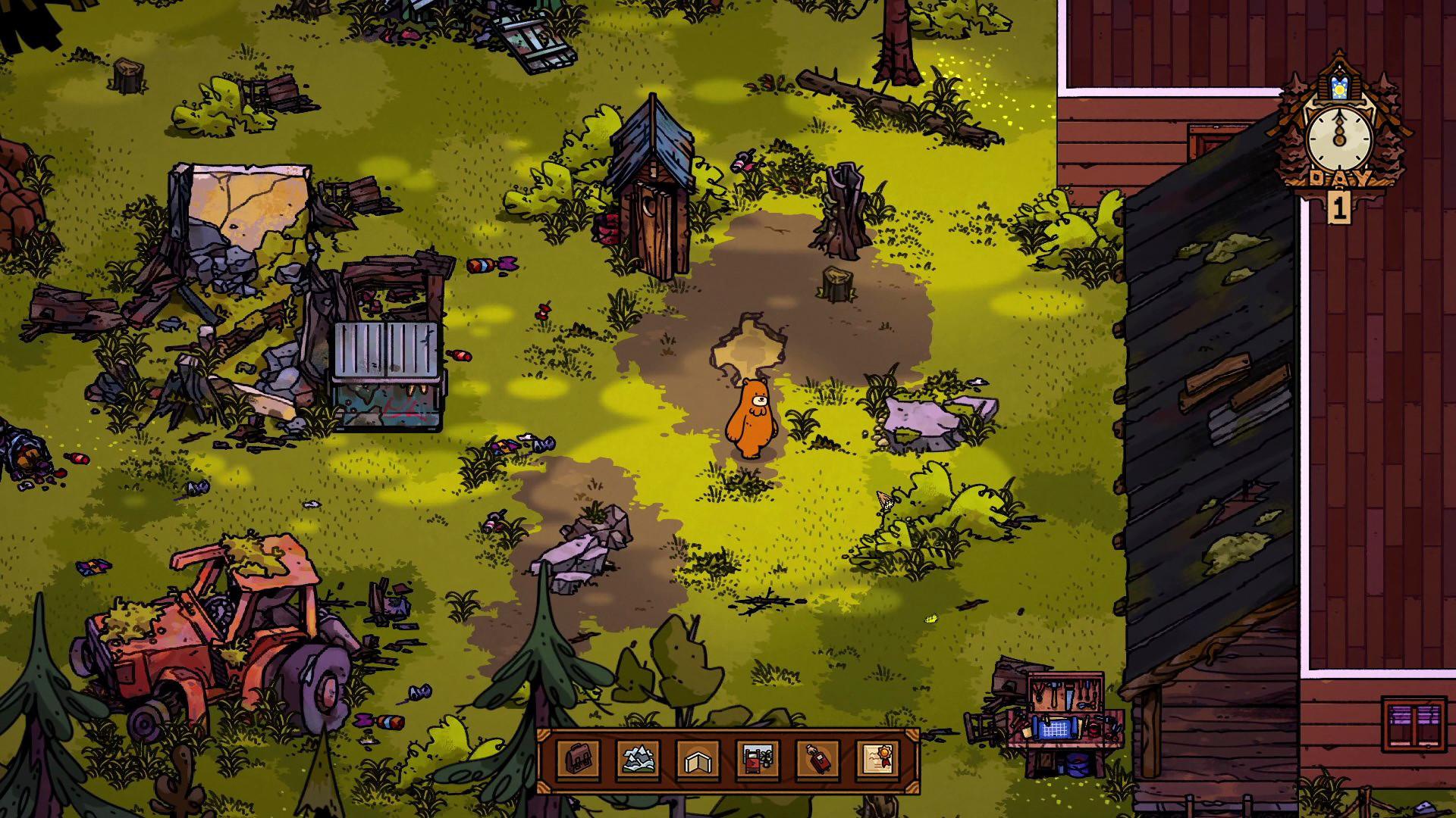 模拟经营游戏《熊与早餐》预计今年内发售 Steam 游戏资讯 第1张