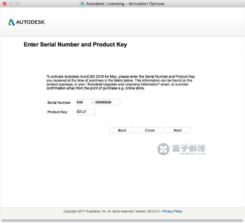 AutoCAD For Mac 2018 简体中文版,附注册机、汉化包和激活方法