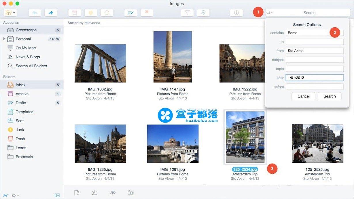 Postbox 6.1.8 十分清晰简单的优秀专业电子邮件客户端