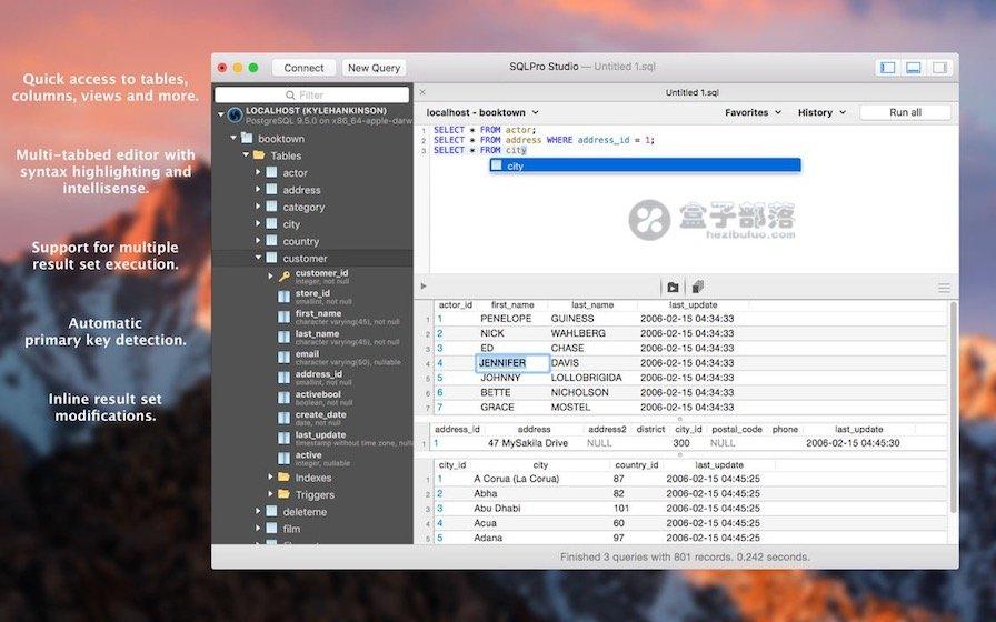 SQLPro Studio - 数据库可视化管理工具 ,原生 macOS 应用