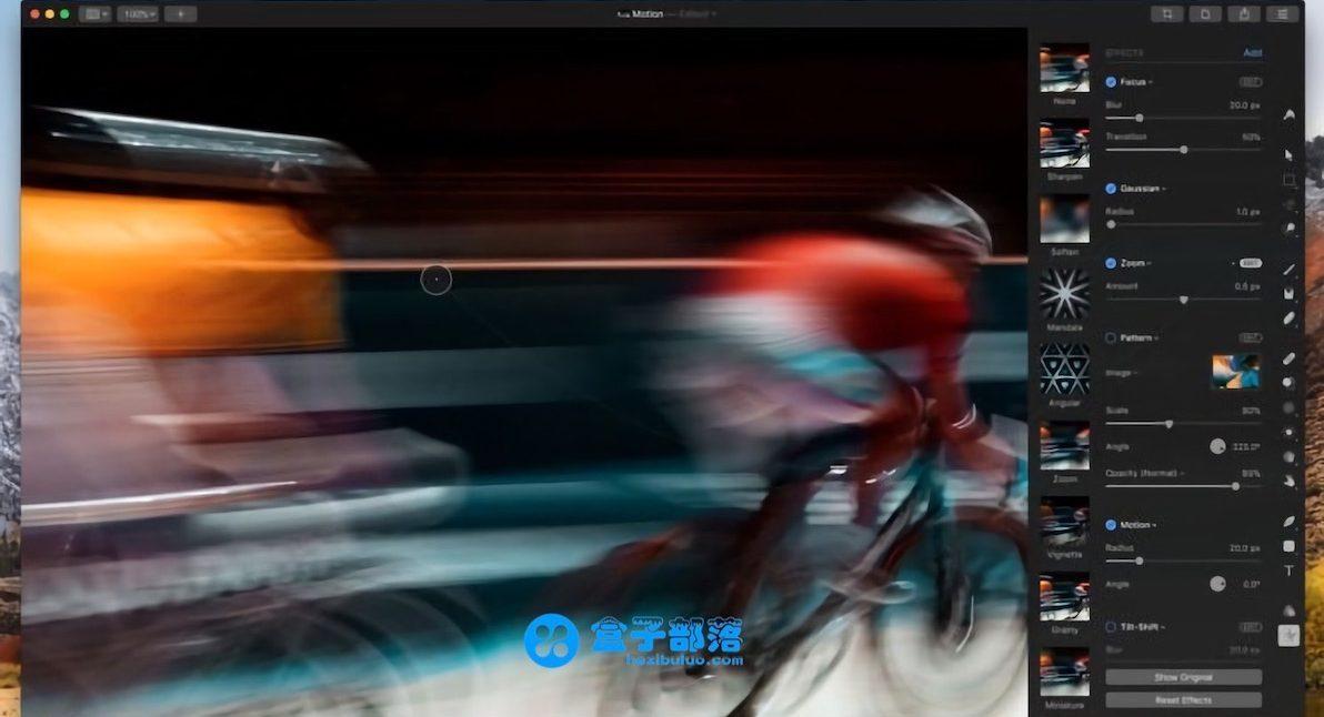 Pixelmator Pro 1.2.1 一款专供于苹果 Mac 平台的专业图像处理软件