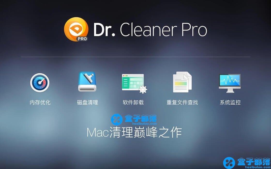 Dr. Cleaner Pro 1.3.3 功能全面的 Mac 系统清理优化卸载工具