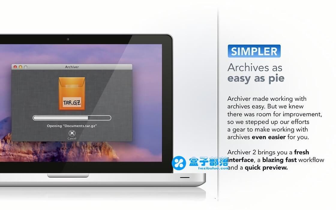 Archiver v3.0.6 一款功能齐全的macOS压缩解压工具
