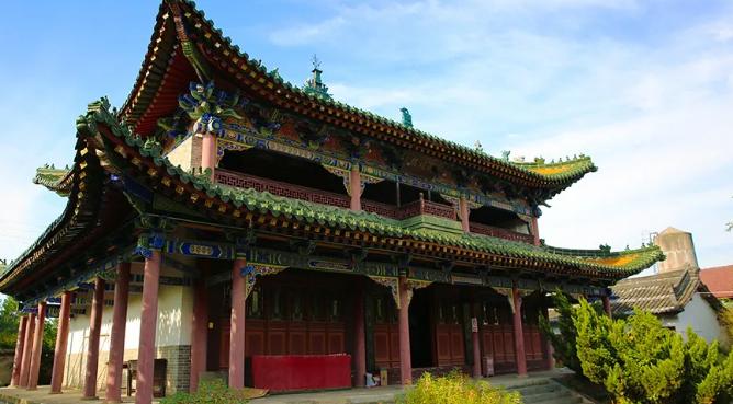 慈圣皇太后与智果寺藏经楼