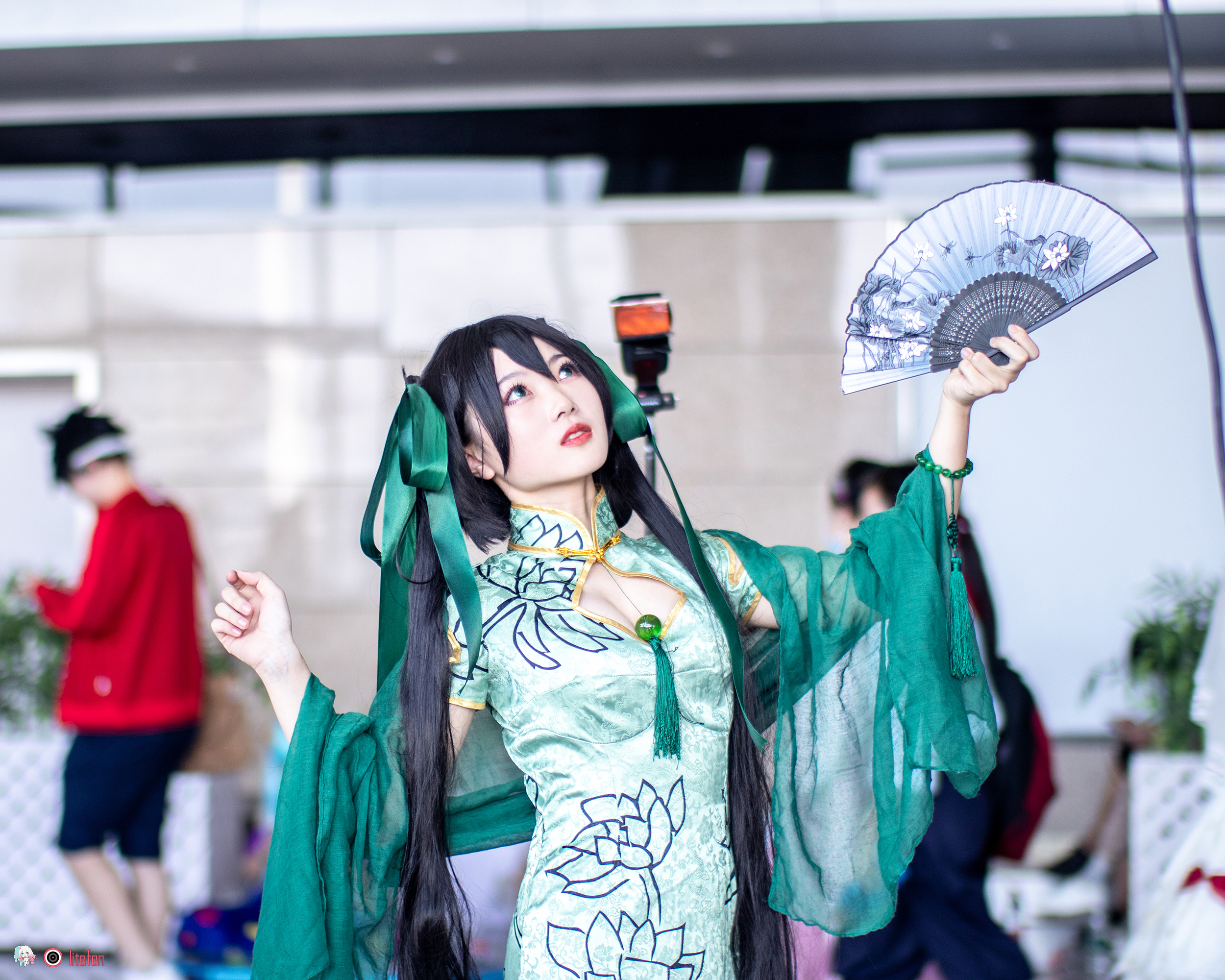 二十届艾妮动漫游戏展 cosplay 场照