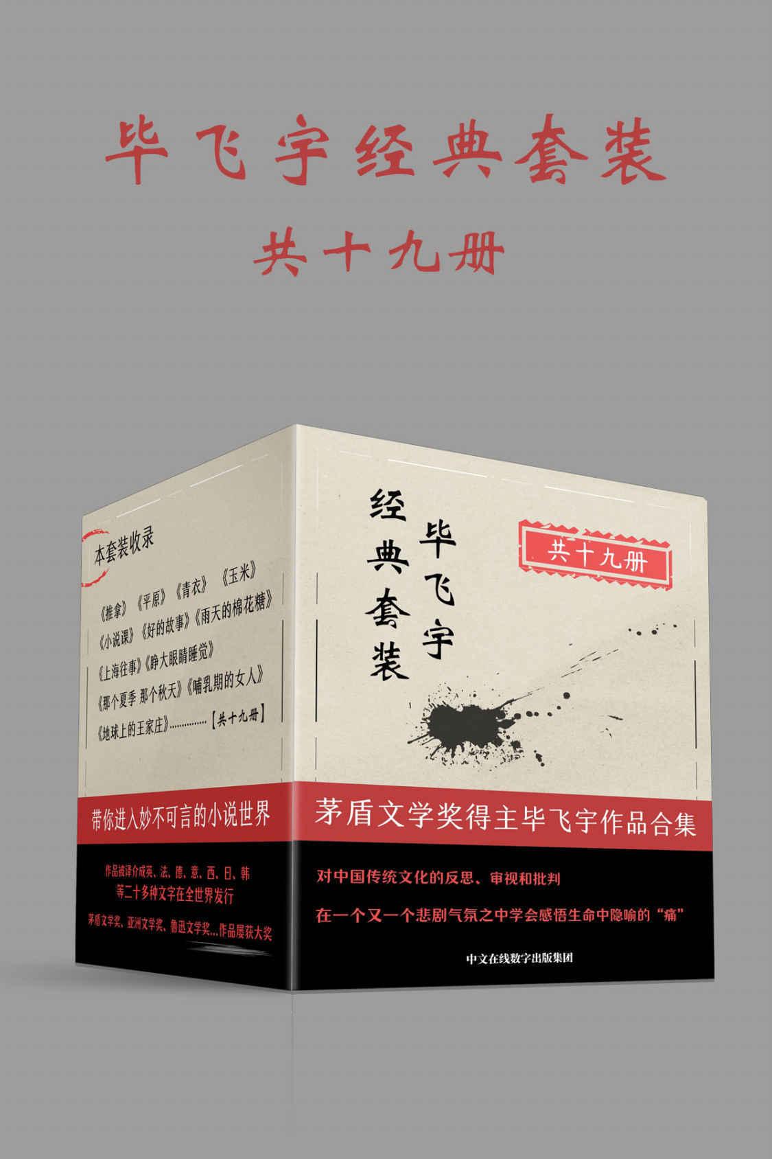 毕飞宇经典套装:共19册pdf-epub-mobi-txt-azw3
