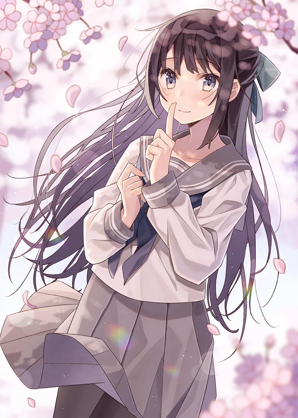 【P站画师】文静又温柔的女孩子们,日本画师みなせなぎ的插画作品- ACG17.COM