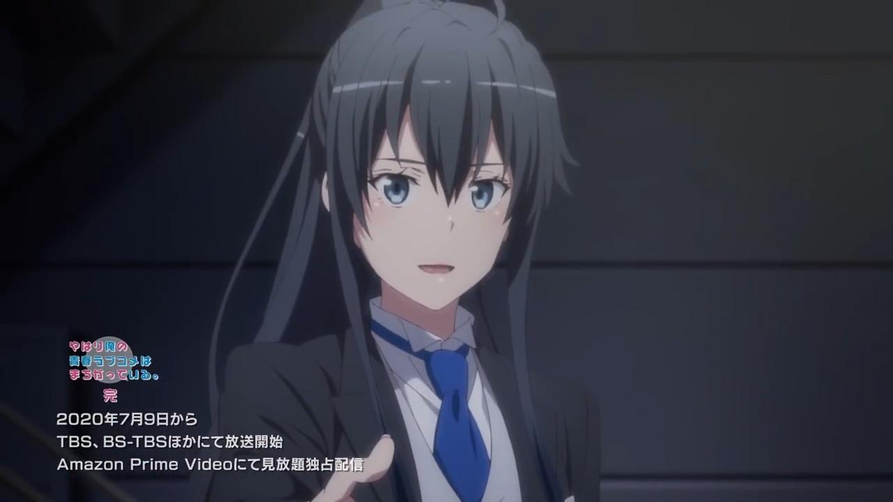 【动漫情报】等到了TV动画《我的青春恋爱物语果然有问题》第三季PV2公开,7月9日开播