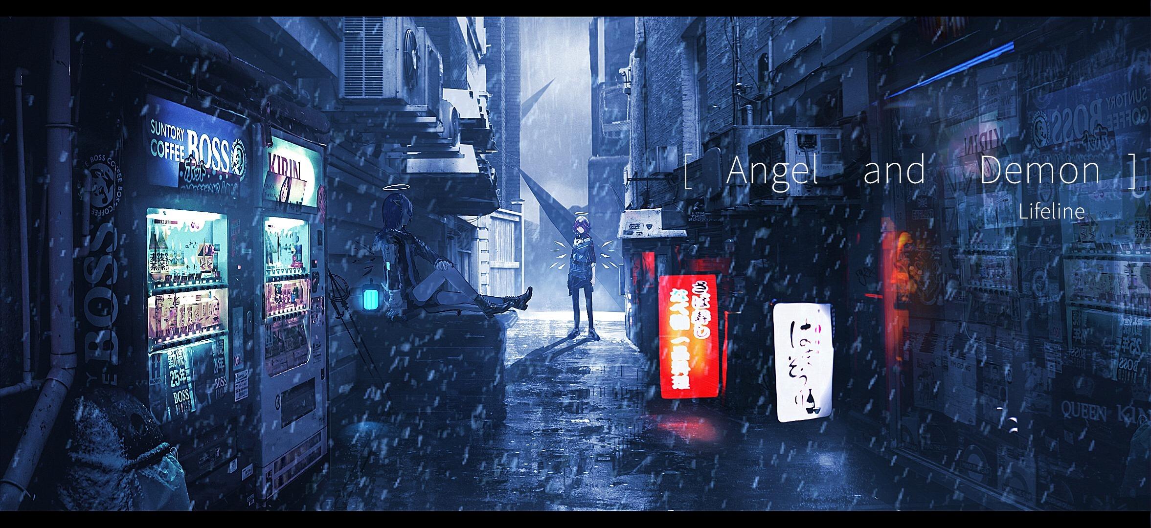 【P站画师】光与影的交织!中国画师Lifeline的插画作品