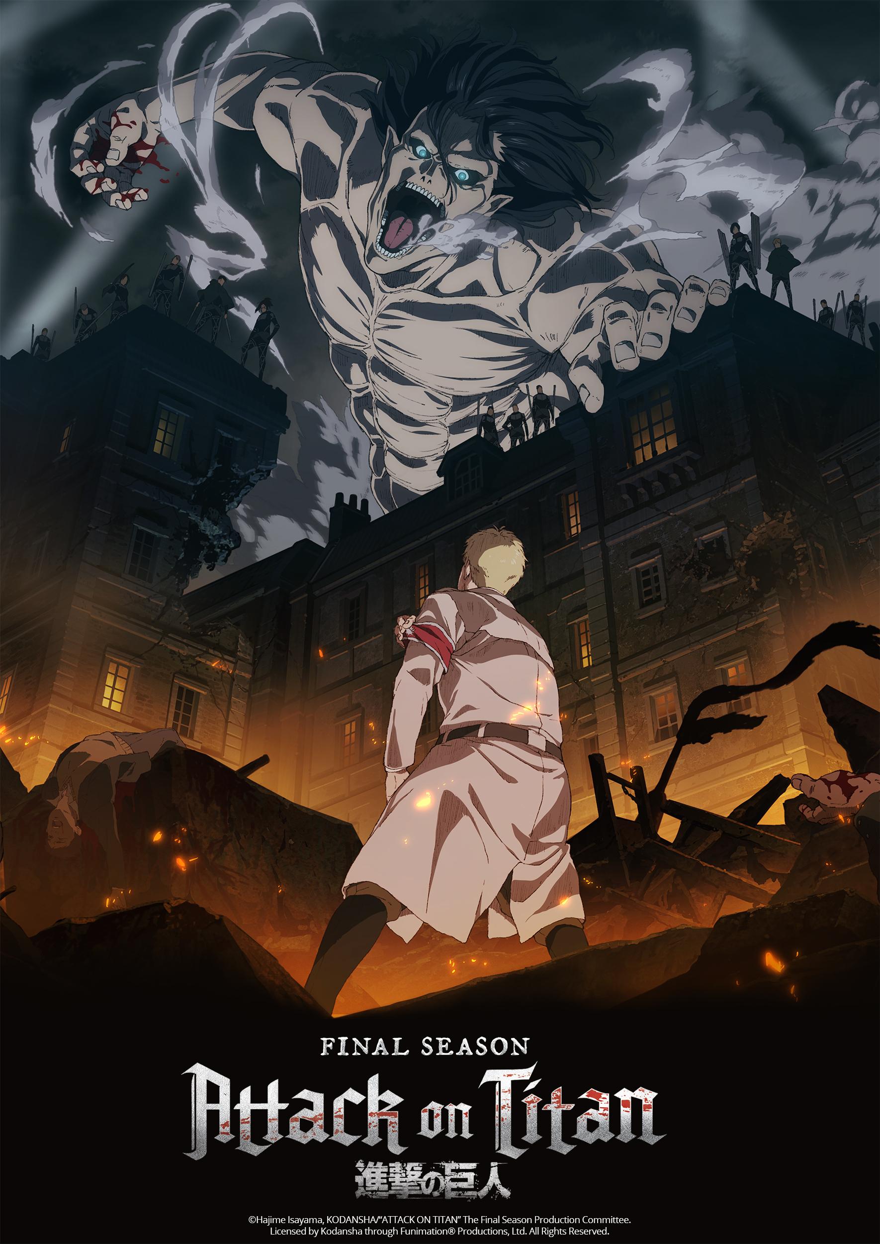 TV动画《进击的巨人 最终季》新视觉图公开,12月7日开播 - ACG17.COM