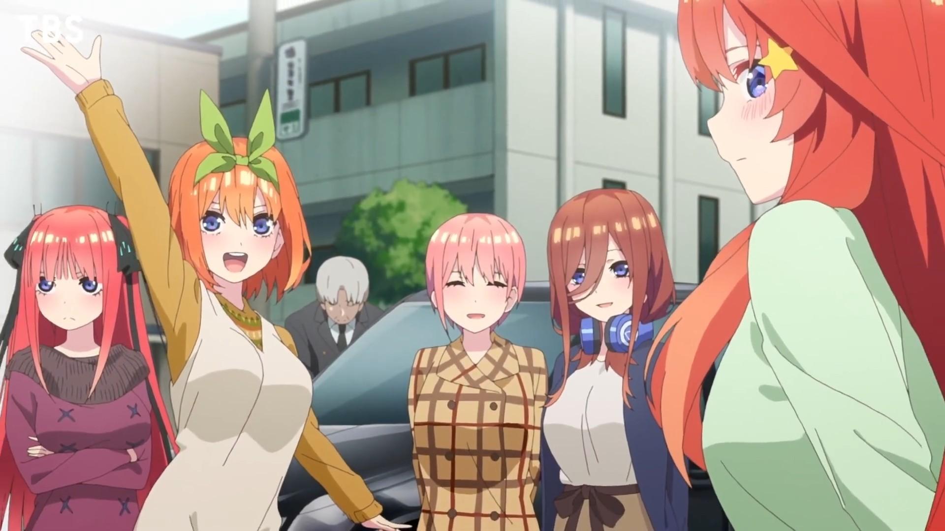TV动画《五等分的新娘》第二季番宣CM公开,2021年1月播出- 布丁次元社
