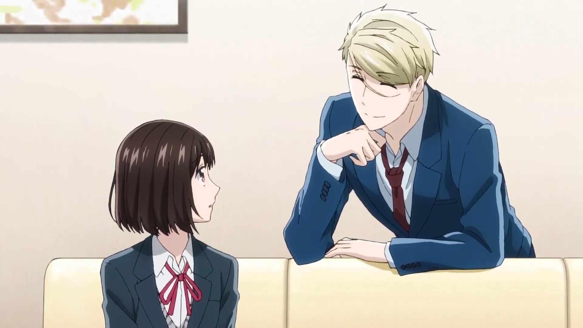 【动漫情报】TV动画《如果这叫爱情感觉会很恶心》第2弹PV公开,2021年4月开播