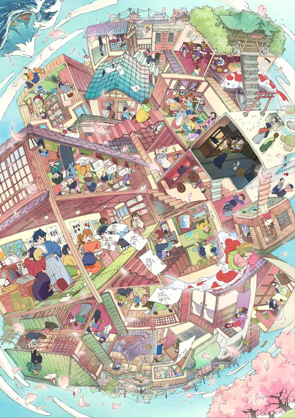 【情报】《东京动画奖2022》主视图公开,京都动画设计