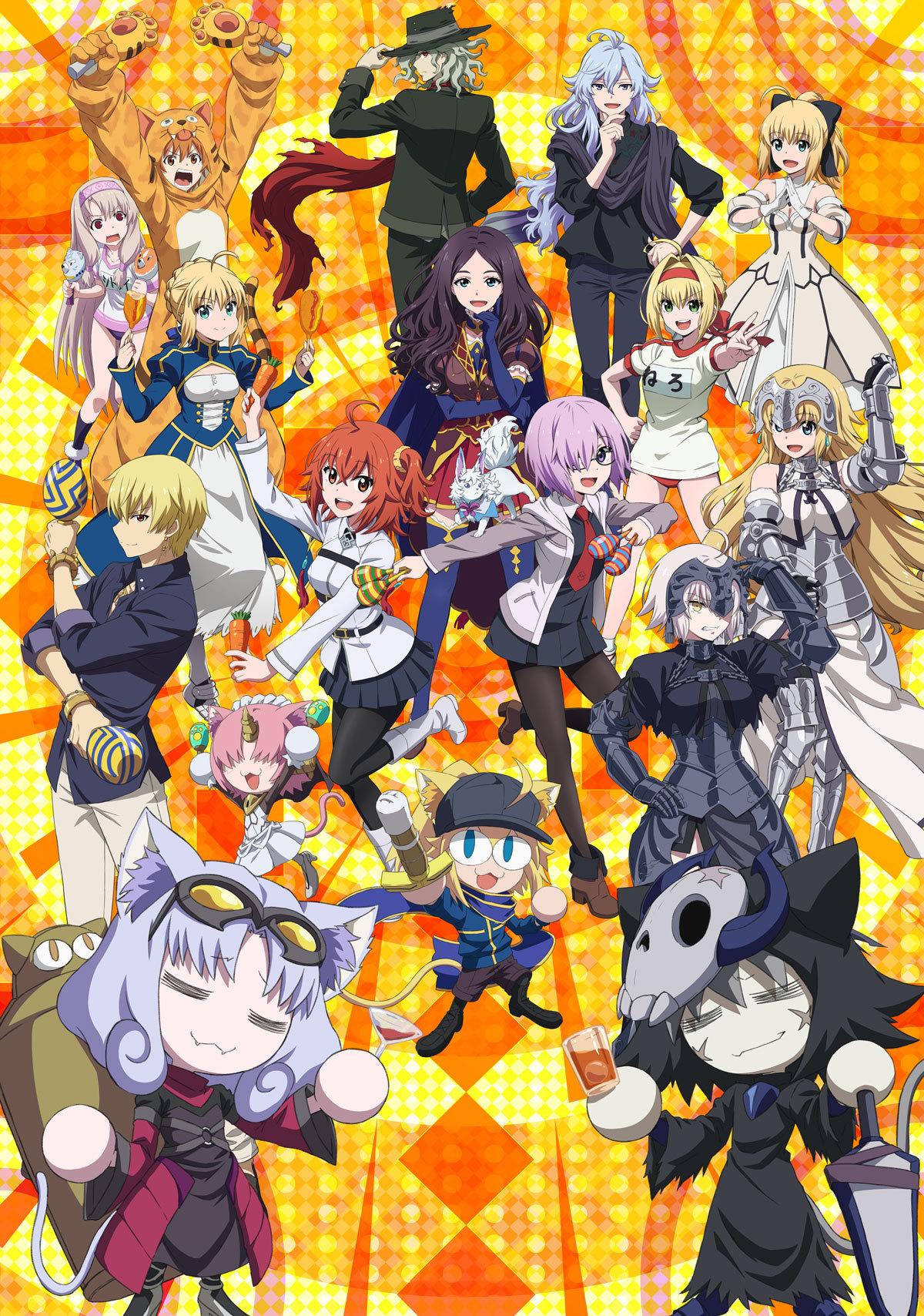 OVA《Fate/Grand Carnival》完整版视觉图公开,6月2日发售- 布丁次元社