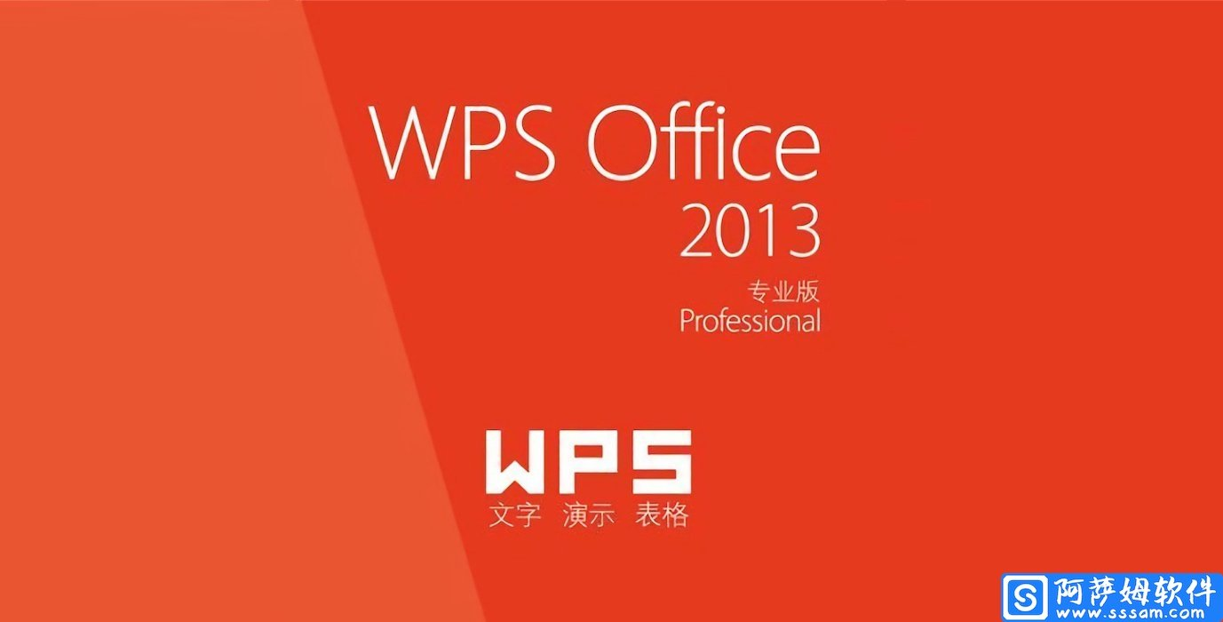 WPS Office 2013 办公软件专业增强版