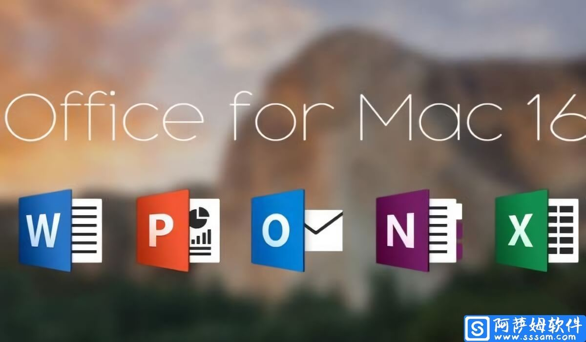 Office for Mac 2016 微软办公软件官方中文版